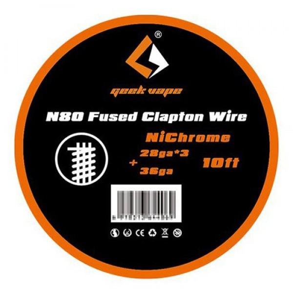Geek Vape N80 Fused Clapton 28ga*3 + 36Ga 3m